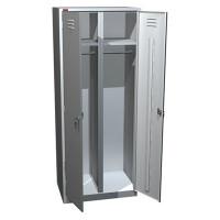 Металлический шкаф для одежды ШРМ - АК