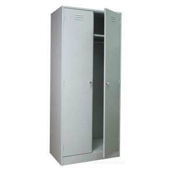 Металлический шкаф для одежды ШРМ - 22