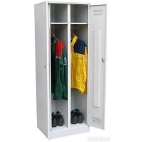 Металлический шкаф для одежды ШРМ - 22/800