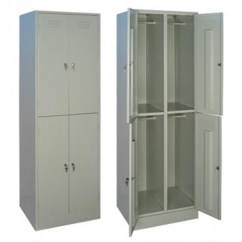 Металлический шкаф для одежды ШРМ - 24