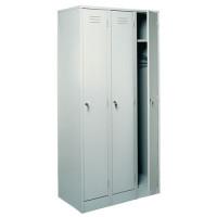 Металлический шкаф для одежды ШРМ - 33