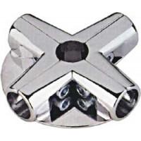 Соединитель угловой 5-ти труб 2-полочный (UNO-12)
