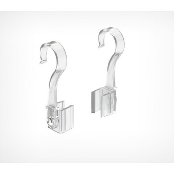 Крючок с подвижным основанием для подвешивания рамок на трубу
