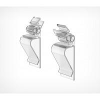 Универсальная клипса-держатель пластиковой рамки с регулируемым углом наклона