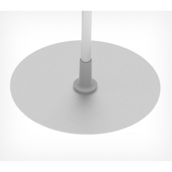 Круглая металлическая подставка для рекламных стоек