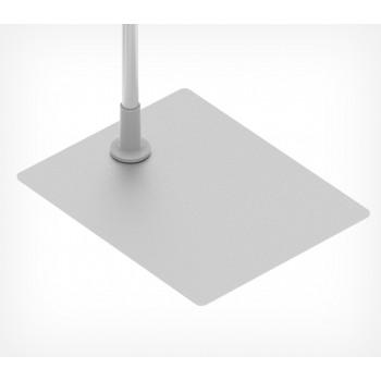 Прямоугольная металлическая подставка