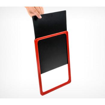 Черная табличка для нанесения надписей А4