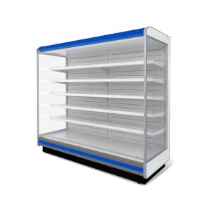 Пристенные холодильные витрины