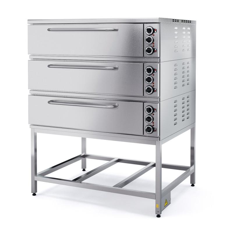 Шкаф пекарный электрический трехсекционный ШПЭ103