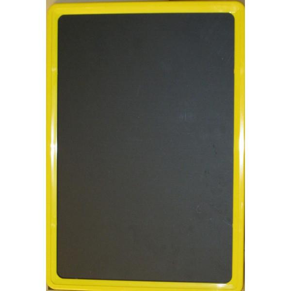 Черная табличка для нанесения надписей А2