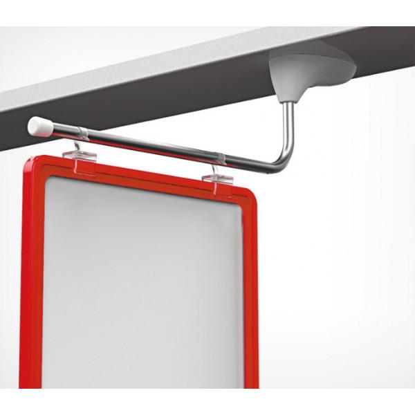 Фиксированный крючок для крепления пластиковых рамок