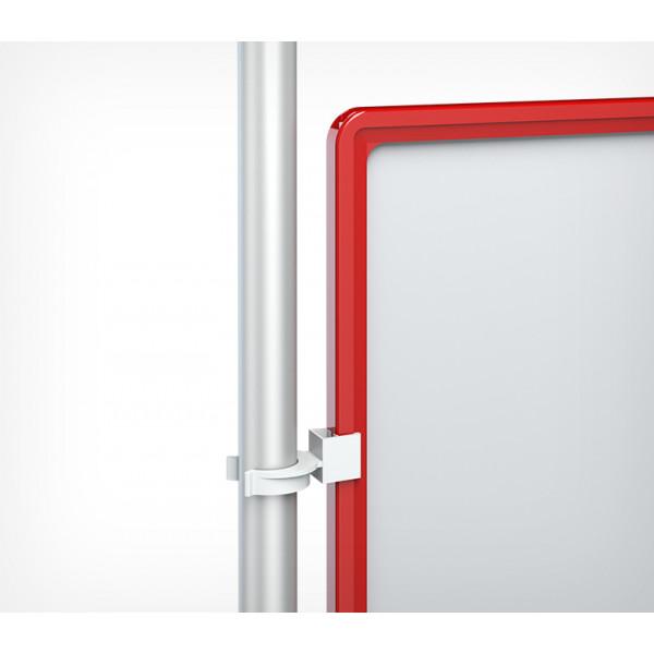 Пластиковая рамка с закругленными углами формата А4