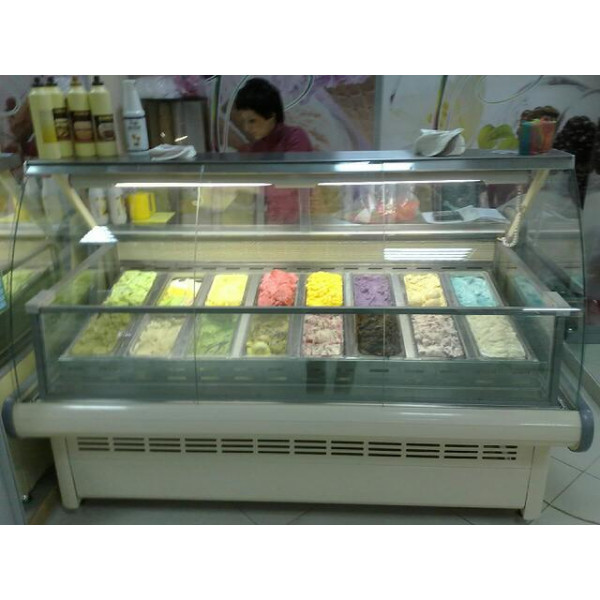 Витрина для мороженного Lida Junior M-2,0