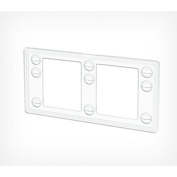 Пластиковая рамка серии ТЕХНО МИНИ формата 1/3 А4