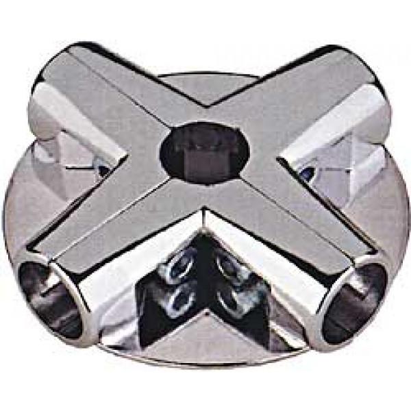 Соединитель угловой 5-ти труб 4-полочный (UNO 14)