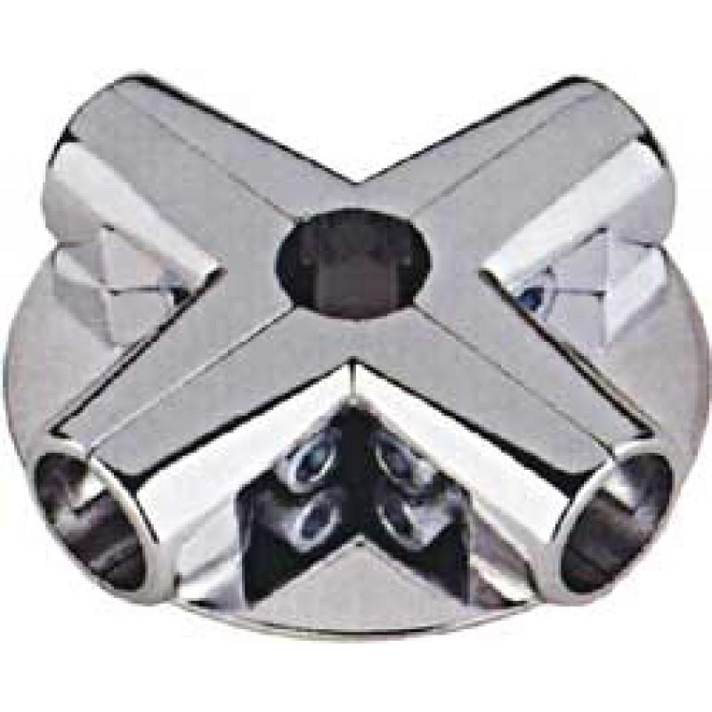Соединитель угловой 5-ти труб 3-полочный (UNO 13)