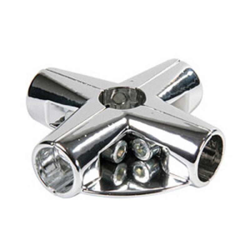 Соединитель угловой 5-ти труб 1-полочный (UNO 11)