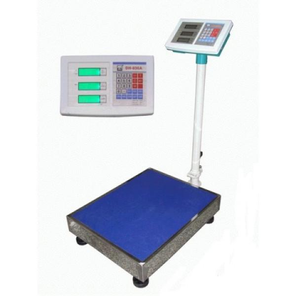 Весы бытовые DH-836 (150кг/20г) LCD+индикатор
