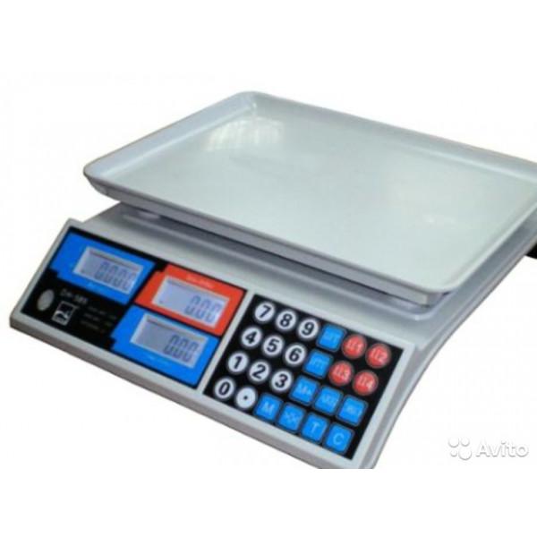 Весы бытовые DH-585 (30кг/5г) LCD