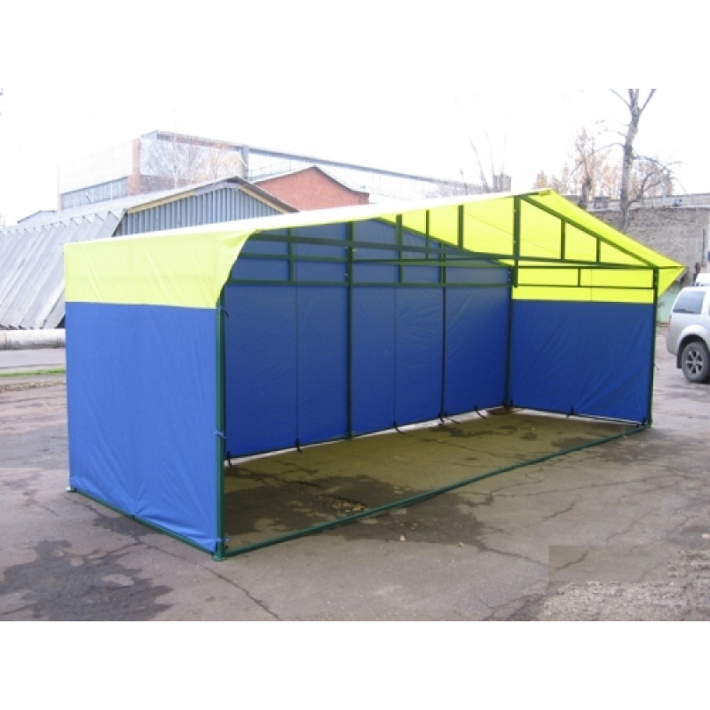 Палатка торговая разборная 6,0*2,0 м К 40*20 мм