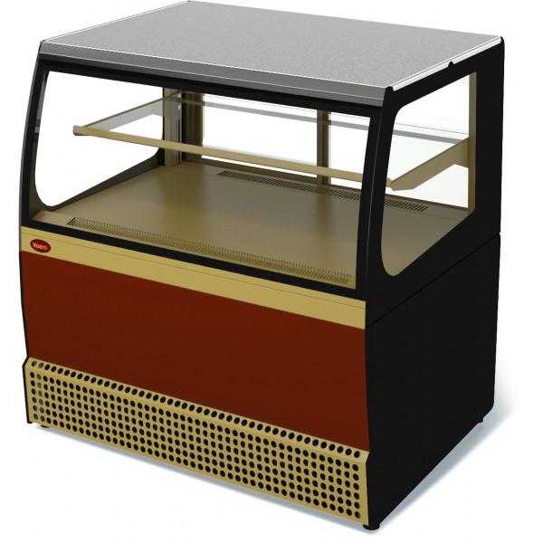 Холодильная витрина кассовая Veneto VSk-0,95 (краш.)