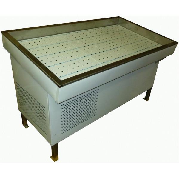 Прилавок холодильный «Рыба на льду» ПХС-1,55/1,1(встроенный холод)
