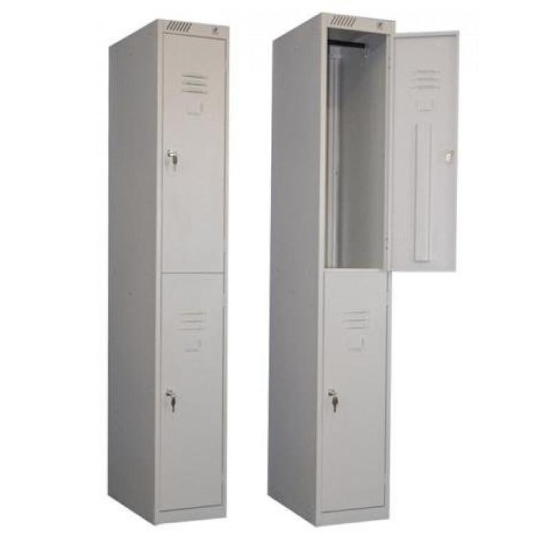 Металлический шкаф для одежды ШРМ - 12