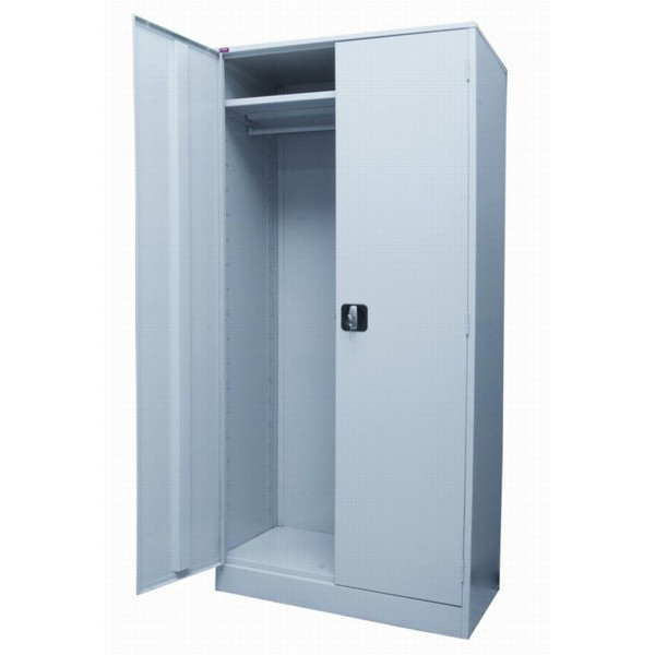 Металлический шкаф для одежды ШАМ - 11.Р