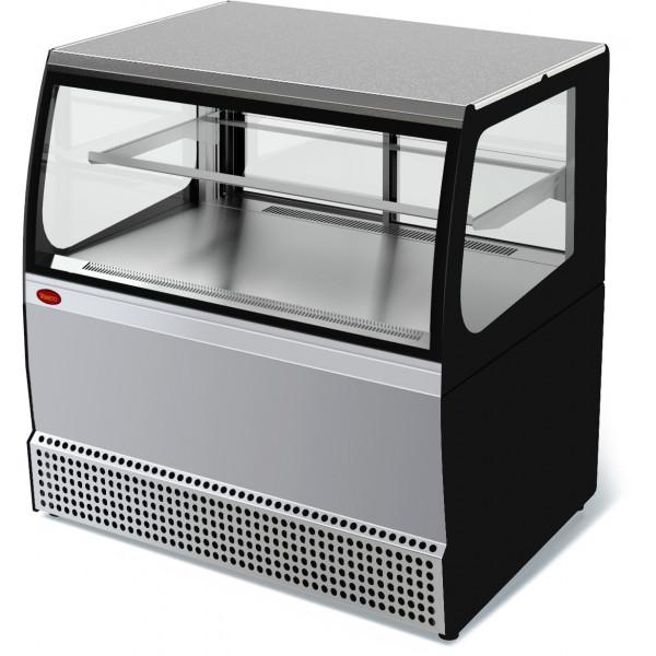 Холодильная витрина кассовая Veneto VSk-0,95 (нерж.)