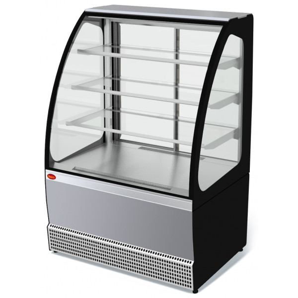 Холодильная витрина Veneto VS-1,3 (нерж.)