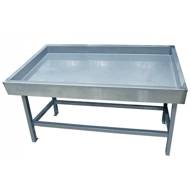 Прилавок холодильный «Рыба на льду» ПХС-1,55/0,85(выносной холод)