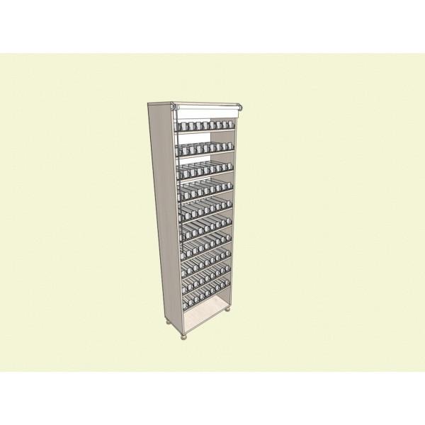 Сигаретный шкаф на 900 стандартных пачек сигарет/90 видов