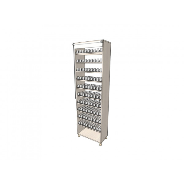 Сигаретный шкаф 900 пачек/90 видов