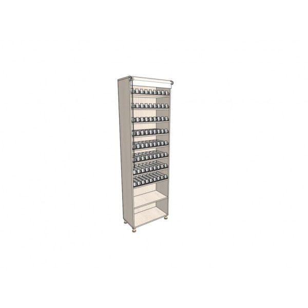 Сигаретный шкаф 720 пачек/72 вида